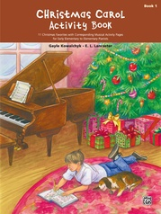 Christmas Carol Activity Book, Book 1