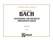 Notebook for Wilhelm Friedemann Bach