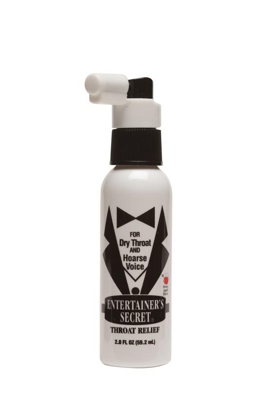 Entertainer's Secret Throat Relief Spray