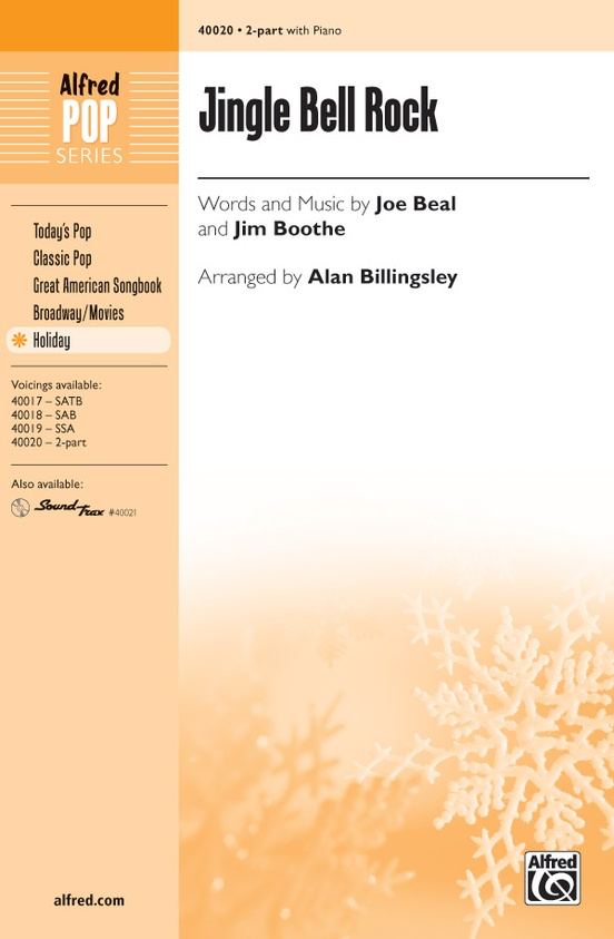 Jingle Bell Rock 2 Part Choral Octavo Jim Boothe