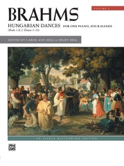 Brahms: Hungarian Dances, Volume 1