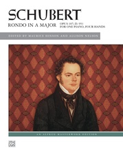 Schubert: Rondo in A Major, Opus 107, D. 951