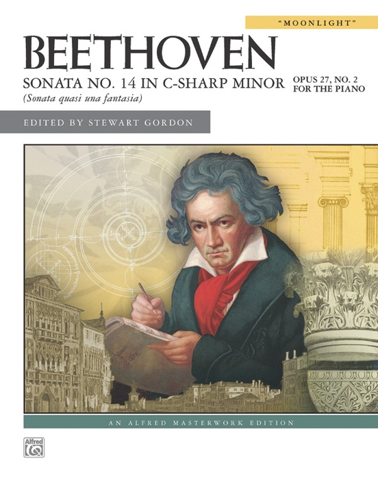 "Beethoven, Sonata No. 14 in C-sharp Minor, Opus 27, No. 2 (""Moonlight"")"