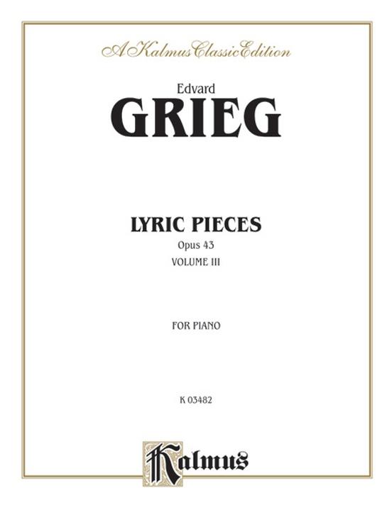 Lyric Pieces, Opus 43