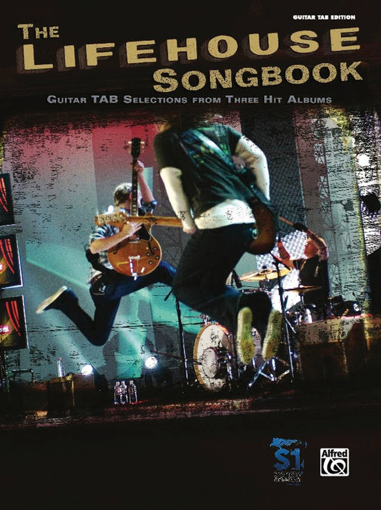 The Lifehouse Songbook Authentic Guitar Tab Book Lifehouse