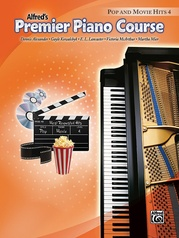 Premier Piano Course, Pop and Movie Hits 4