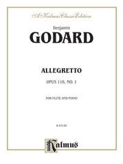 Allegretto for Flute and Piano, Opus 116