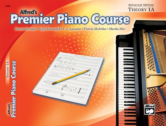 Premier Piano Course, Universal Edition Theory 1A
