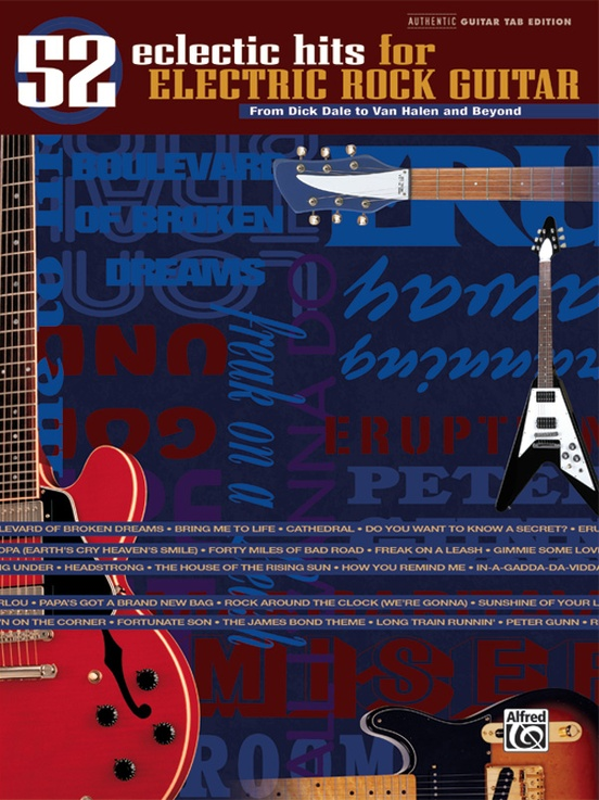 52 Eclectic Hits for Electric Rock Guitar