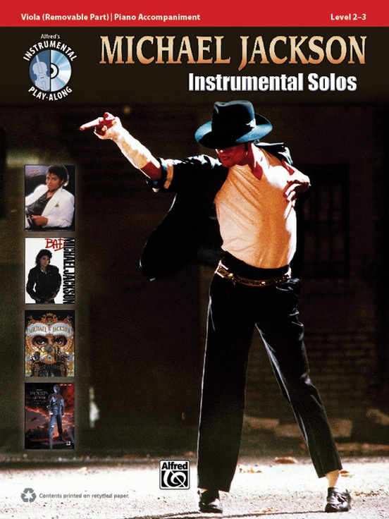 Michael Jackson Instrumental Solos for Strings