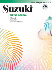 Suzuki Guitar School Guitar Part & CD, Volume 2