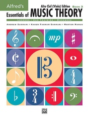 Alfred's Essentials of Music Theory: Book 3 Alto Clef (Viola) Edition