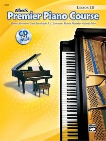 Premier Piano Course, Lesson 1B
