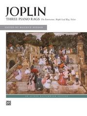 Joplin: Three Piano Rags