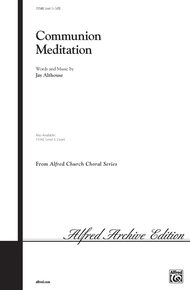 Communion Meditation