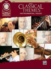 Easy Classical Themes Instrumental Solos for Strings