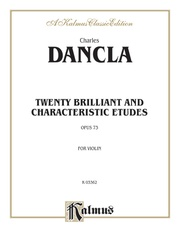 Twenty Brilliant and Characteristic Etudes, Opus 73