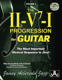Jamey Aebersold Jazz, Volume 3: The ii-V7-I Progression for Guitar