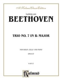 Piano Trio No. 7, Opus 97 in B-flat Major