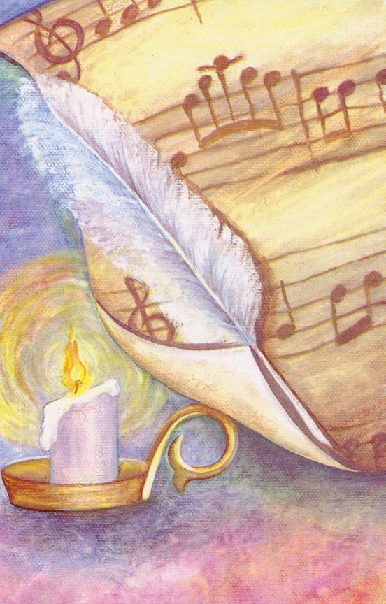 Schaum Recital Programs (Blank) #9: Old Manuscript
