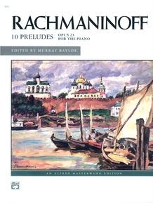 Rachmaninoff, Preludes, Opus 23