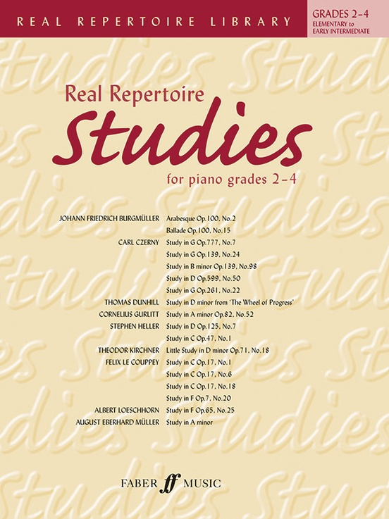 Real Repertoire Studies for Piano Grades 2-4