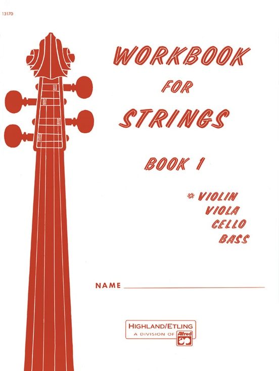 Workbook for Strings, Book 1