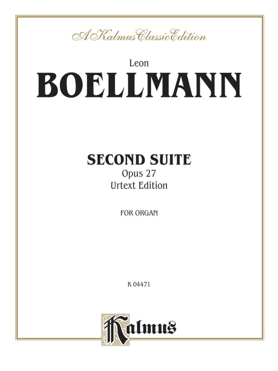 Second Suite, Opus 27 (Urtext Edition)