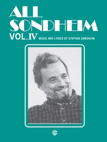 All Sondheim, Volume IV