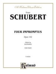 Four Impromptus, Opus 142