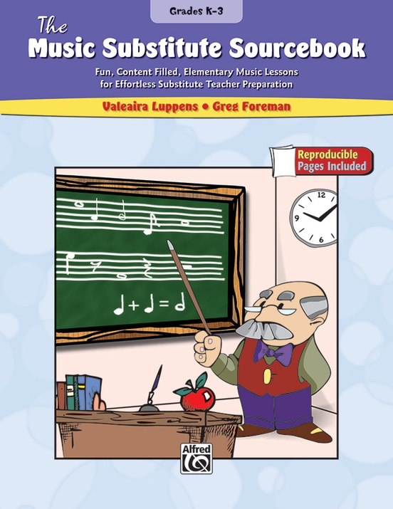 The Music Substitute Sourcebook, Grades K-3