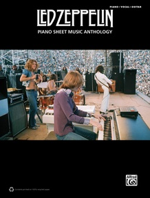 Led Zeppelin: Piano Sheet Music Anthology