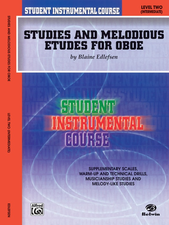 Student Instrumental Course: Studies and Melodious Etudes for Oboe, Level II
