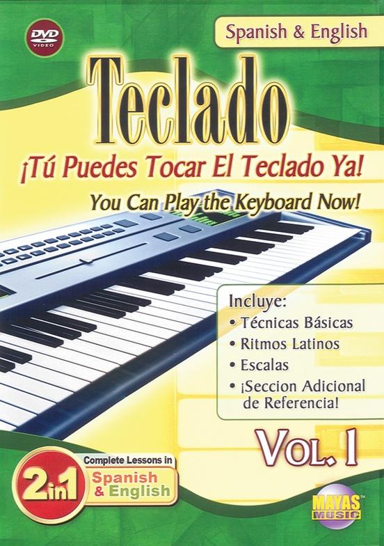 2 in 1 Bilingual: Teclado Vol. 1