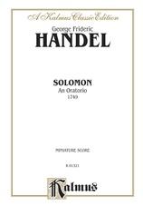 Solomon (1749), An Oratorio