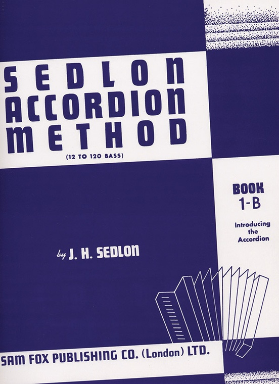 Sedlon Accordion Method, Book 1B