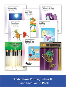 Federation Primary Class II Piano Solo (Value Pack)