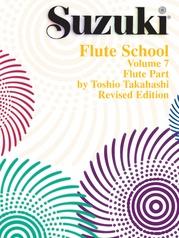 Suzuki Flute School Flute Part, Volume 7 (Revised)
