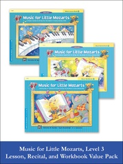 Music for Little Mozarts Level 3 2012 (Value Pack)