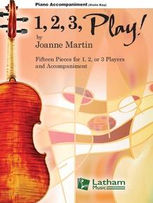 1, 2, 3, Play! - Violin Key Piano Accompaniment