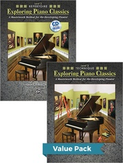 Exploring Piano Classics Level 2 (Value Pack)