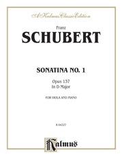Sonatina No. 1 in D Major, Opus 137