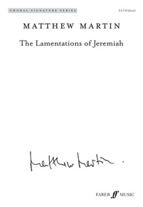 The Lamentations of Jeremiah