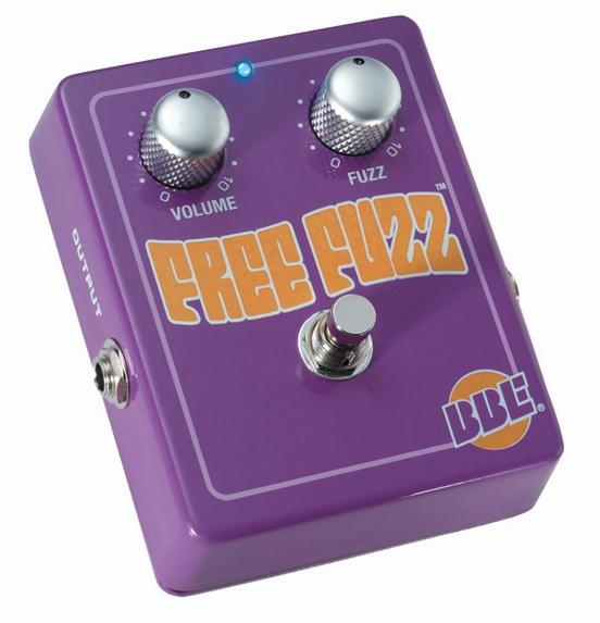 BBE Free Fuzz 1960s Style Dynamic Fuzz Guitar Effects Pedal