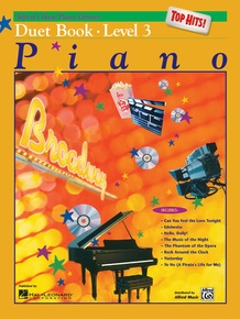 Alfred's Basic Piano Library: Top Hits! Duet Book 3