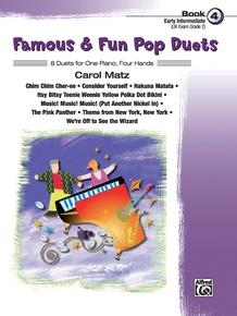 Famous & Fun Pop Duets, Book 4