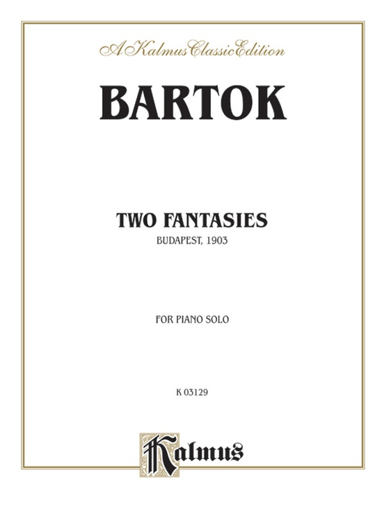 Two Fantasies (Gmunden 1903)