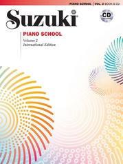 Suzuki Piano School New International Edition Piano Book and CD, Volume 2