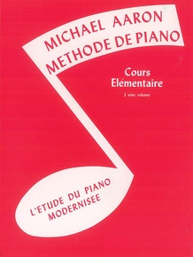 Michael Aaron Piano Course: French Edition, Book 2