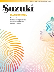 Suzuki Flute School Piano Acc., Volume 7 (Revised)